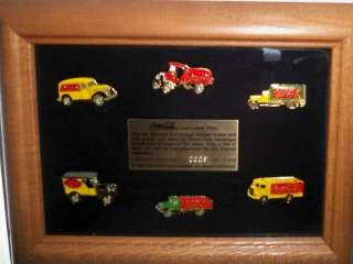 OLYMPIC SPONSOR COCA COLA 6 PIN DELIVERY TRUCK SET