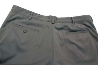 Dri FIT Flat Front Tech Mens Golf Pants Dark GREY MULTI SIZE