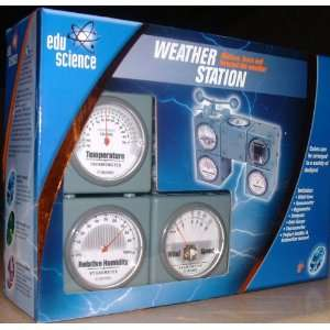 Edu Science Weather Station Kit Toys & Games