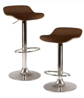 Kallie Barstool Air Lift Adjustable Bar Stool Metal