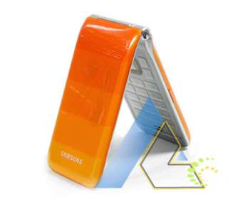 New Samsung S5520 NORI Orange Unlocked Phone+4Gifts+1 Year Warranty