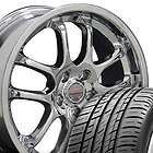 18 8/9 Chrome Infiniti G35 Wheels With Falken Tires Rims Fit Infiniti