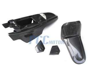 YAMAHA PW50 PLASTIC SEAT GAS TANK KIT CARBON FIBER PS44